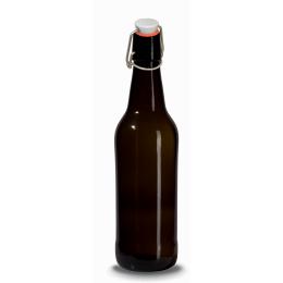 Brun flaska 50cl med bygelkapsyl