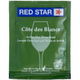Red Star Côte des Blancs vinjäst 5 g